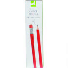 Q Connect Pencil Hb Rubber Tipped (Pack of 12)